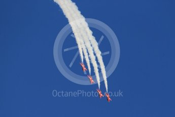 World © Octane Photographic Ltd. 9th December 2015 RAF Scampton – Red Arrows display team practice. Digital Ref : 1493CB1D1862