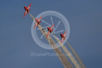 World © Octane Photographic Ltd. 9th December 2015 RAF Scampton – Red Arrows display team practice. Digital Ref : 1493CB1D2031