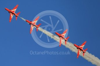 World © Octane Photographic Ltd. 9th December 2015 RAF Scampton – Red Arrows display team practice. Digital Ref : 1493CB1D2042