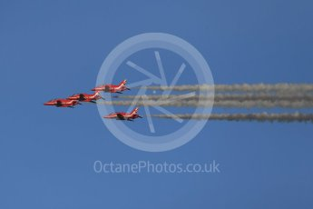 World © Octane Photographic Ltd. 9th December 2015 RAF Scampton – Red Arrows display team practice. Digital Ref : 1493CB1D2120