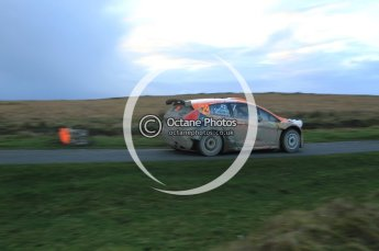 © North One Sport Limited 2010/ Octane Photographic Ltd. 2010 WRC Great Britain, Saturday 13th November 2010. Digital ref : 0118lw1d4357