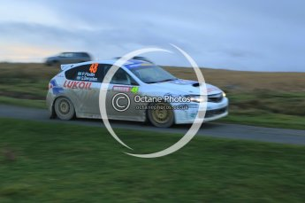 © North One Sport Limited 2010/ Octane Photographic Ltd. 2010 WRC Great Britain, Saturday 13th November 2010. Digital ref : 0118lw1d4394