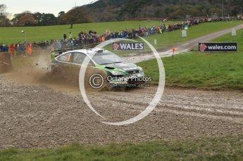 © North One Sport Limited 2010/ Octane Photographic Ltd. 2010 WRC Great Britain, Sunday 14th November 2010. Digital ref : 0120lw1d0128