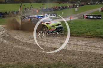 © North One Sport Limited 2010/ Octane Photographic Ltd. 2010 WRC Great Britain, Sunday 14th November 2010. Digital ref : 0120lw1d0165