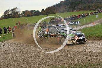 © North One Sport Limited 2010/ Octane Photographic Ltd. 2010 WRC Great Britain, Sunday 14th November 2010. Digital ref : 0120lw1d0187