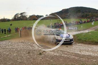 © North One Sport Limited 2010/ Octane Photographic Ltd. 2010 WRC Great Britain, Sunday 14th November 2010. Digital ref : 0120lw1d0227