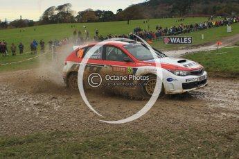 © North One Sport Limited 2010/ Octane Photographic Ltd. 2010 WRC Great Britain, Sunday 14th November 2010. Digital ref : 0120lw1d0360