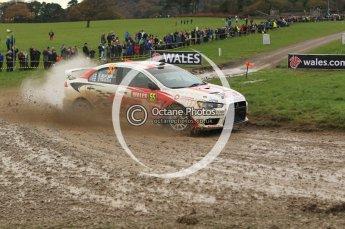 © North One Sport Limited 2010/ Octane Photographic Ltd. 2010 WRC Great Britain, Sunday 14th November 2010. Digital ref : 0120lw1d0470