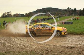 © North One Sport Limited 2010/ Octane Photographic Ltd. 2010 WRC Great Britain, Sunday 14th November 2010. Digital ref : 0120lw1d0551