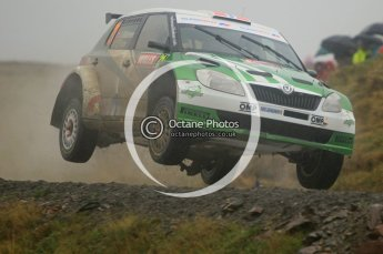 © North One Sport Limited 2010/ Octane Photographic Ltd. 2010 WRC Great Britain, Friday 12th November 2010. Digital ref : 0117cb1d1456