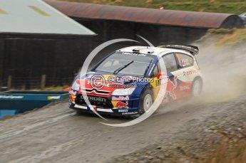 © North One Sport Limited 2010/ Octane Photographic Ltd. 2010 WRC Great Britain, Friday 12th November 2010, Sebastien Loeb/Daniel Elena, Citroen C4 WRC. Digital ref : 0117lw1d3078