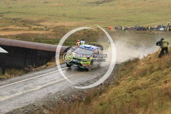 © North One Sport Limited 2010/ Octane Photographic Ltd. 2010 WRC Great Britain, Friday 12th November 2010. Digital ref : 0117lw1d3096