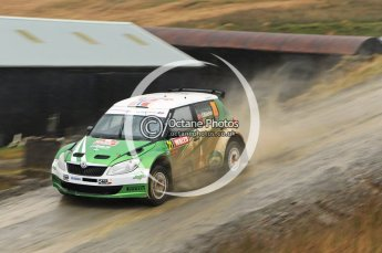 © North One Sport Limited 2010/ Octane Photographic Ltd. 2010 WRC Great Britain, Friday 12th November 2010. Digital ref : 0117lw1d3305