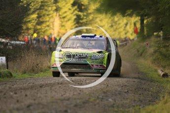 © North One Sport Limited 2010/ Octane Photographic Ltd. 2010 WRC Great Britain, Saturday 13th November 2010. Digital ref : 0119cb1d1572