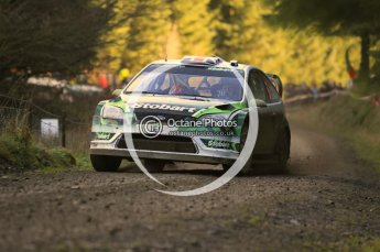 © North One Sport Limited 2010/ Octane Photographic Ltd. 2010 WRC Great Britain, Saturday 13th November 2010. Digital ref : 0119cb1d1593