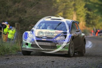 © North One Sport Limited 2010/ Octane Photographic Ltd. 2010 WRC Great Britain, Saturday 13th November 2010. Digital ref : 0119cb1d1662