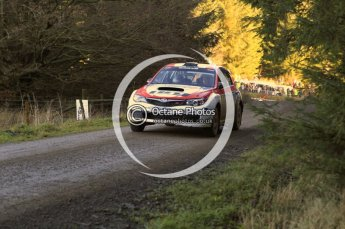 © North One Sport Limited 2010/ Octane Photographic Ltd. 2010 WRC Great Britain, Saturday 13th November 2010. Digital ref : 0119lw1d3607