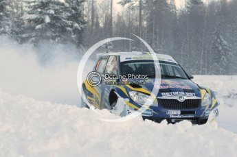 © North One Sport Limited 2011/Octane Photographic Ltd. 2011 WRC Sweden SS16 Torntorp I, Sunday 13th February 2011. Digital ref : 0156CB1D9345