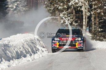 © North One Sport Limited 2011/Octane Photographic Ltd. 2011 WRC Sweden SS19 Torntorp II, Sunday 13th February 2011. Digital ref : 0155CB1D9501