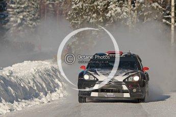 © North One Sport Limited 2011/Octane Photographic Ltd. 2011 WRC Sweden SS19 Torntorp II, Sunday 13th February 2011, Kimi Raikkonen/Kaj Lindstrom, Citroen DS3 WRC. Digital ref : 0155CB1D9527