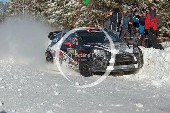 © North One Sport Limited 2011/Octane Photographic Ltd. 2011 WRC Sweden SS19 Torntorp II, Sunday 13th February 2011, Kimi Raikkonen/Kaj Lindstrom, Citroen DS3 WRC. Digital ref : 0155CB1D9534