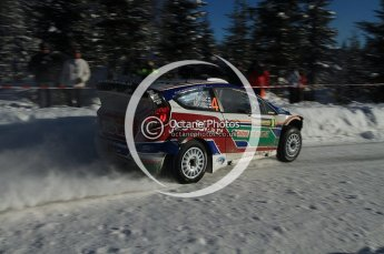 © North One Sport Limited 2011/Octane Photographic Ltd. 2011 WRC Sweden SS19 Torntorp II, Sunday 13th February 2011. Digital ref : 0155LW7D9536