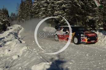 © North One Sport Limited 2011/Octane Photographic Ltd. 2011 WRC Sweden SS19 Torntorp II, Sunday 13th February 2011. Digital ref : 0155LW7D9540