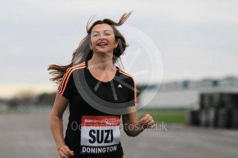 World © Octane Photographic Ltd. 5th February 2016 – Donington Park Racetrack. Suzi Perry launches the 2016 Donington Park Summer Running Festival. Digital Ref : 1500CB1D0266