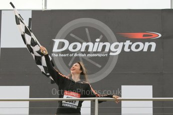 World © Octane Photographic Ltd. 5th February 2016 – Donington Park Racetrack. Suzi Perry launches the 2016 Donington Park Summer Running Festival. Digital Ref : 1500CB1D0394
