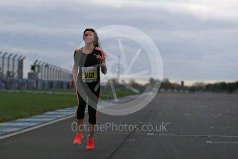 World © Octane Photographic Ltd. 5th February 2016 – Donington Park Racetrack. Suzi Perry launches the 2016 Donington Park Summer Running Festival. Digital Ref : 1500LB1D6640