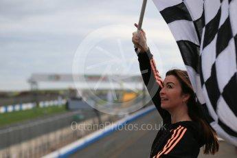 World © Octane Photographic Ltd. 5th February 2016 – Donington Park Racetrack. Suzi Perry launches the 2016 Donington Park Summer Running Festival. Digital Ref : 1500LB1D6684