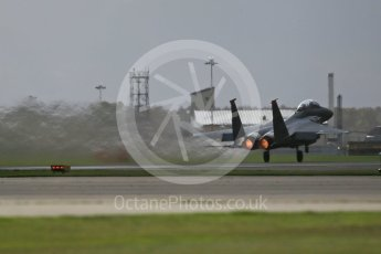"""World © Octane Photographic Ltd. RAF Lakenheath operations 16th November 2015, USAF (United States Air Force) 48th Fighter Wing """"Statue of Liberty Wing"""" 494 Fighter Squadron """"Panthers"""", McDonnell Douglas F-15E Strike Eagle. Digital Ref : 1469CB1D3571"""
