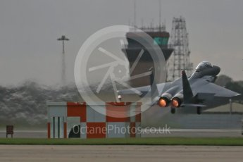"""World © Octane Photographic Ltd. RAF Lakenheath operations 16th November 2015, USAF (United States Air Force) 48th Fighter Wing """"Statue of Liberty Wing"""" 494 Fighter Squadron """"Panthers"""", McDonnell Douglas F-15E Strike Eagle LN 01-2004. Digital Ref : 1469CB1D3753"""