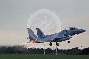 """World © Octane Photographic Ltd. RAF Lakenheath operations 16th November 2015, USAF (United States Air Force) 48th Fighter Wing """"Statue of Liberty Wing"""" 493 Fighter Squadron """"The Grim Reapers"""", McDonnell Douglas F-15C Eagle LN 86-172. Digital Ref : 1469CB1D4168"""