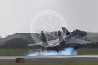 """World © Octane Photographic Ltd. RAF Lakenheath operations 16th November 2015, USAF (United States Air Force) 48th Fighter Wing """"Statue of Liberty Wing"""" 492 Fighter Squadron """"Madhatters"""", McDonnell Douglas F-15E Strike Eagle LN 96-202. Digital Ref : 1469CB7D0276"""
