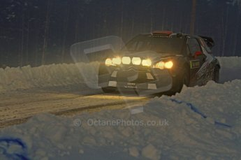 © North One Sport Limited 2011/Octane Photographic Ltd. 2011 WRC Sweden SS15 Varmulssen, Saturday 12th February 2011, Kimi Raikkonen/Kaj Lindstrom, Citroen DS3 WRC. Digital ref : 0157LW7D9264