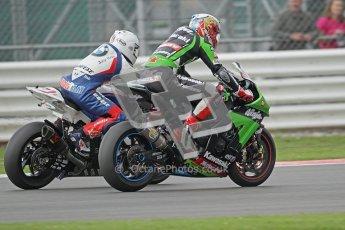 © Octane Photographic Ltd. World Superbike Championship – Silverstone, Race 1. Sunday 5th August 2012. Leon Haslam - BMW S1000RR - BMW Motorrad Motorsport. Digital Ref :