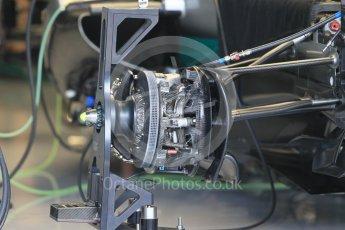 World © Octane Photographic Ltd. Mercedes AMG Petronas W07 Hybrid. Thursday 30th June 2016, F1 Austrian GP Pit Lane, Red Bull Ring, Spielberg, Austria. Digital Ref : 1594CB1D1405