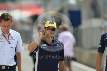 World © Octane Photographic Ltd. Sauber F1 Team C35 – Felipe Nasr. Thursday 30th June 2016, F1 Austrian GP Pit Lane, Red Bull Ring, Spielberg, Austria. Digital Ref : 1594CB1D1549