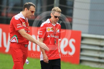 World © Octane Photographic Ltd. Scuderia Ferrari – Sebastian Vettel. Thursday 30th June 2016, F1 Austrian GP Track walk, Red Bull Ring, Spielberg, Austria. Digital Ref : 1594CB1D1576