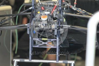 World © Octane Photographic Ltd. Williams Martini Racing, Williams Mercedes FW38. Thursday 30th June 2016, F1 Austrian GP Pit Lane, Red Bull Ring, Spielberg, Austria. Digital Ref : 1594CB1D1587