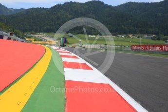 World © Octane Photographic Ltd. Exit from Turn 1. Thursday 30th June 2016, F1 Austrian GP, Red Bull Ring, Spielberg, Austria. Digital Ref : 1594CB5D2410