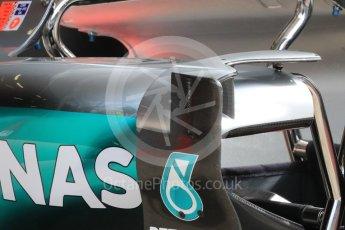 World © Octane Photographic Ltd. Mercedes AMG Petronas W07 Hybrid. Thursday 30th June 2016, F1 Austrian GP Pit Lane, Red Bull Ring, Spielberg, Austria. Digital Ref : 1594LB1D0071