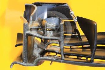 World © Octane Photographic Ltd. Renault Sport F1 Team RS16. Thursday 30th June 2016, F1 Austrian GP Pit Lane. Red Bull Ring, Spielberg, Austria. Digital Ref : 1594LB1D0160