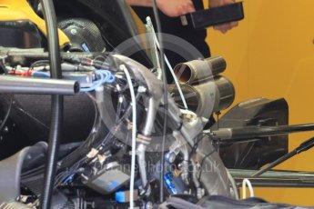 World © Octane Photographic Ltd. Renault Sport F1 Team RS16. Thursday 30th June 2016, F1 Austrian GP Pit Lane. Red Bull Ring, Spielberg, Austria. Digital Ref : 1594LB1D0167