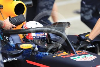 World © Octane Photographic Ltd. Red Bull Racing RB12 with halo cockpit protection device – Pierre Gasly. Tuesday 12th July 2016, F1 In-season testing, Silverstone UK. Digital Ref :1618LB1D7394