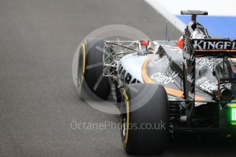 World © Octane Photographic Ltd. Sahara Force India VJM09 - Nikita Mazepin. Tuesday 12th July 2016, F1 In-season testing, Silverstone UK. Digital Ref :1618LB1D7448