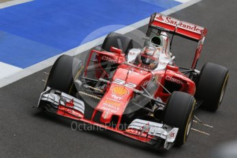 World © Octane Photographic Ltd. Scuderia Ferrari SF16-H – Charles Leclec. Tuesday 12th July 2016, F1 In-season testing, Silverstone UK. Digital Ref :1618LB1D9033