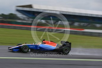 World © Octane Photographic Ltd. Manor Racing MRT05 – Rio Haryanto. Tuesday 12th July 2016, F1 In-season testing, Silverstone UK. Digital Ref : 1618LB1D9535
