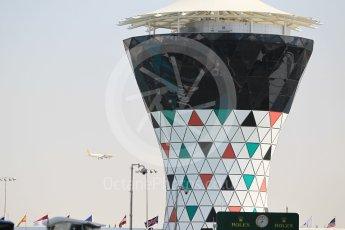 World © Octane Photographic Ltd. Circuit tower. Thursday 24th November 2016, F1 Abu Dhabi GP - Pitlane, Yas Marina circuit, Abu Dhabi. Digital Ref :